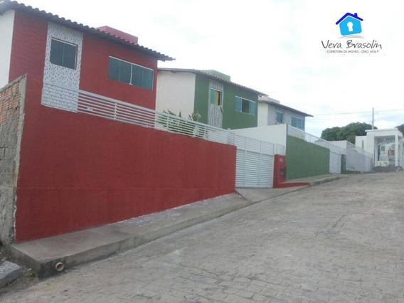 Duplex Com 2 Dormitórios À Venda, 88 M² Por R$ 160.000 - Village Jacumã - Conde/pb - Ca0491