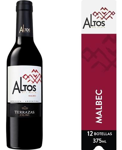 Imagen 1 de 6 de Vino Altos Del Plata Malbec Caja 12u X 375ml
