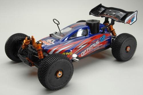 Automodelo Buggy 1/8 Optimus Gp Dhk Nitro Motor 21 4x4 2.4g
