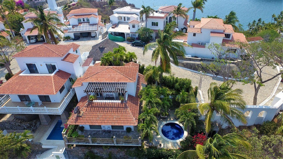Casa De Playa De Lujo En Manzanillo Fraccionamiento La Punta