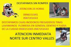 Dentro Y Fuera De Quito Destape De Cañerias Cajas 0987261643