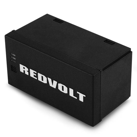 08 B Originais Redvolt® + Carregador