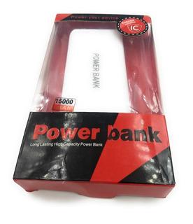 Power Bank Batería Cargador Externo 15000mah Envio Inmediato