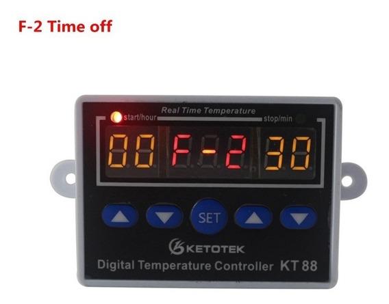 Termostato Controlador De Temperatura Multifunção 110-220v