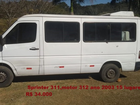 Sprinter 311,motor 312 Ano 2003