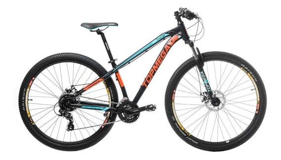 Bicicleta Mountain Bike Alum. Top Mega Thor R29 +linga O Led