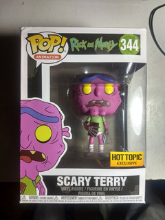 Funko Pop Scary Terry. Rick And Morty. Excluisive Hot Topic