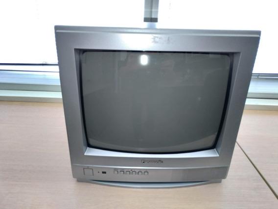 Tv Tubo 14 Polegadas - Modelo Tc 14rm15l Panasonic Usado