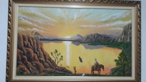 Imagem 1 de 2 de Aulas De Pinturas Óleo Sobre Tela.