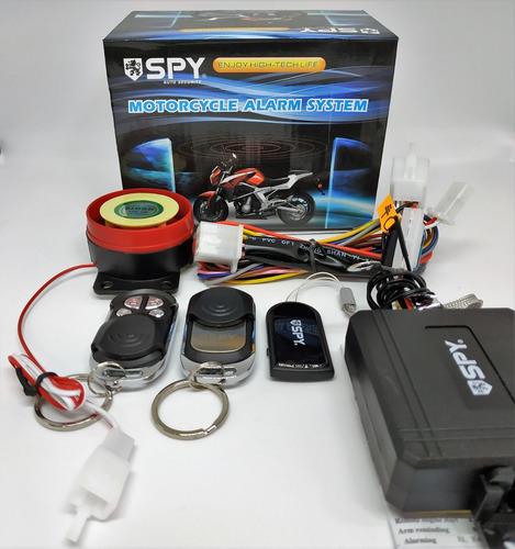 Alarma Para Moto Spy Sensor Alejamiento 3 Controles Garantia