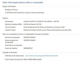 Notebook Dell Inspiron 7520 15r Se I5 6gb Ram Video Dedicado