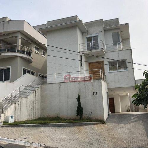 Casa Com 3 Dormitórios À Venda, 320 M² Por R$ 1.600.000,00 - Condomínio Real Park - Arujá/sp - Ca1577