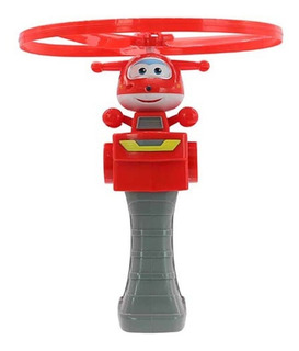 Super Wings Lanzador Con Vehiculo High Flying Jett Us730511