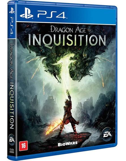 Jogo Dragon Age Inquisition Ps4 Midia Fisica Cd Original Novo Lacrado Português Promoção