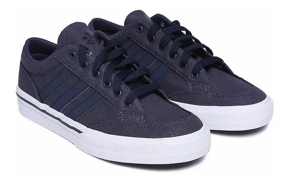 Tenis adidas Unisex Azul Oscuro Gvp Canvas Str Af5952