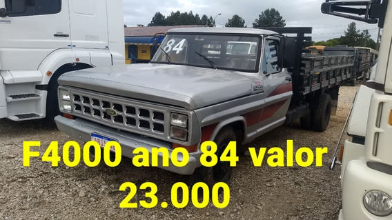 Ford F-4000 Ano 84 Motor Ford 4 Marchas