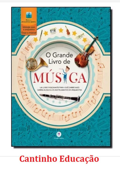 O Grande Livro De Músicas 1 Volume Editora Ciranda Cultural