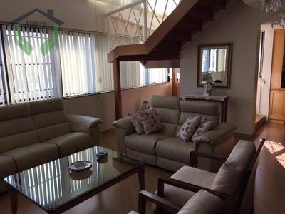 Cobertura Com 3 Dormitórios À Venda, 310 M² Por R$ 2.250.000 - Alto Da Lapa - São Paulo/sp - Co0164