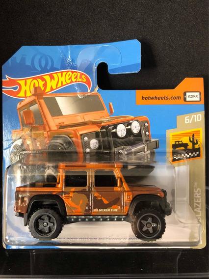Hot Wheels 15 Land Rover Defender Blister Rasgado