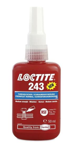 Trava Rosca Loctite 243 50g - Média Resistência 1344482