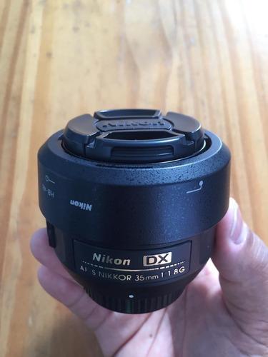 Lente Nikon 35mm 1.8 Usada