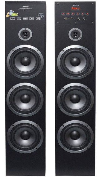 Home Theater Bluetooth 720w Torre Usb Caixa Som Amplificada