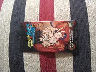 Paquete De Colección De Cartas Dragón Ball Z Kai Serie 1