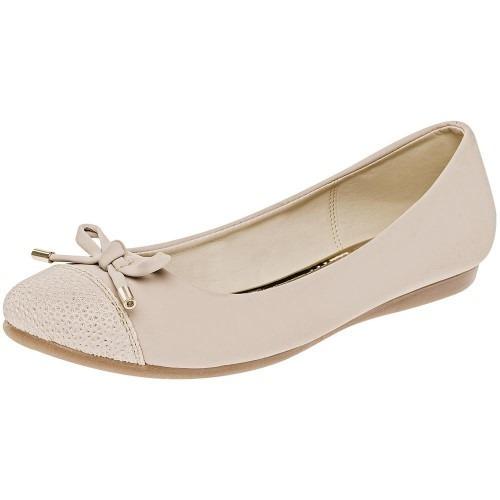 Zapato De Piso Dama Clasben Beige 58121 22-27 Envió Inmediat
