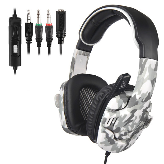 Sades Sa-708gt 3.5mm Gaming Headphone W / Mic Cancelamento