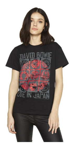 Remera Live In Japan Estampada Manga Corta Mujer Complot