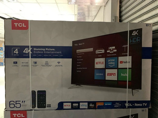 Smart Tv Tcl 65 Pulgadas Nuevas 4k
