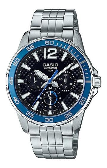Relógio Casio Masculino Mtd-330d-1a2vdf C/ Garantia E Nf