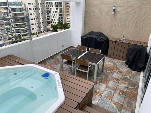 Imagen 1 de 11 de Apartamento En Alquiler Amueblado En Evaristo Morales