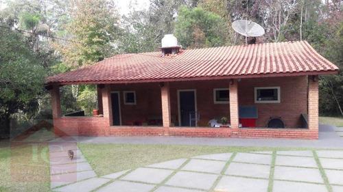 Chácara Com 2 Dormitórios À Venda, 15000 M² Por R$ 500.000,00 - Das Brotas - Cotia/sp - Ch0059