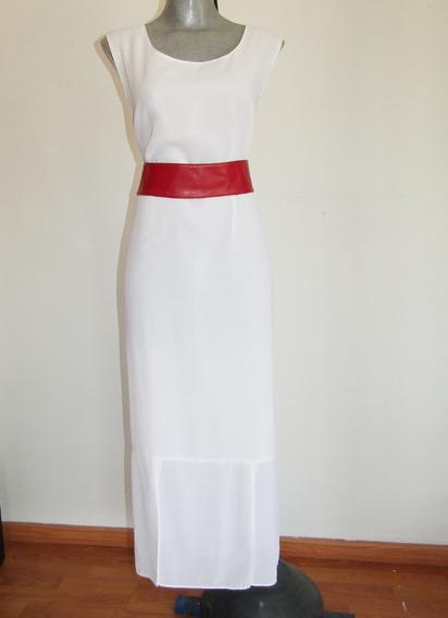 Tally Taylor Padrisimo Vestido Blanco Talla 16