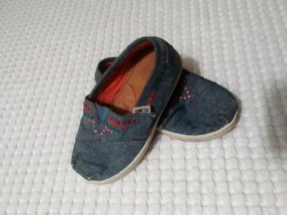 Zapatos De Niño O Niña Toms Originales Talla 24.5