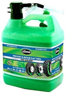 Limo Sin Cámara Sellador De Neumáticos 1 Galón Verde