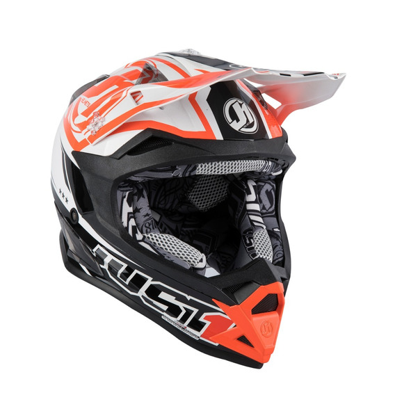 Casco Just1 J32 Pro Rave Series Black Orange Tienda Oficial