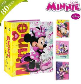 Album De Fotos Infantil Minnie Para 80 Fotos 10x15*-*