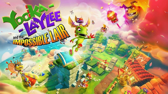 Yooka-laylee And The Impossible Lair - Switch Digital Codigo