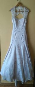 Vestido De Novia Corte Sirena, Pedrería A Mano