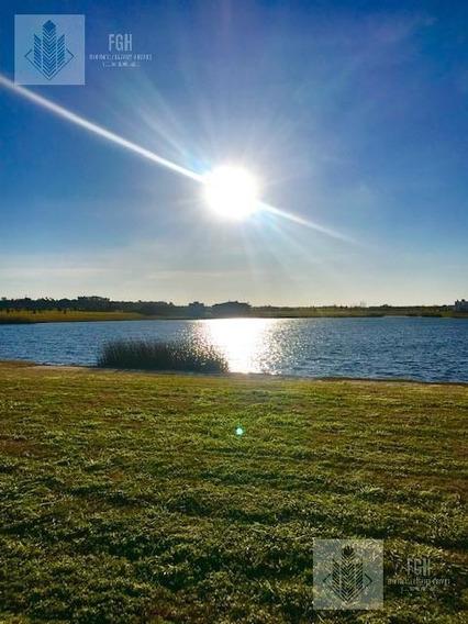 Lote En Laguna Con Gran Espejo De Agua, Y El Mejor Atardecer Sobre El Lago!!