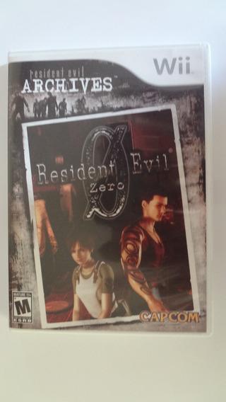 Resident Evil 0 Nintendo Wii Usado