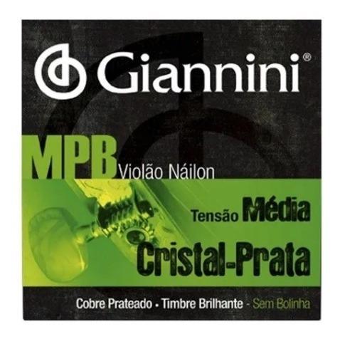 Imagem 1 de 1 de Encordoamento Violao Nylon Giannini Genws Serie Mpb Medio