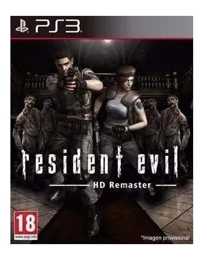 Resident Evil 1- Hd- Remake Remastered - Ps3- Psn- Digital