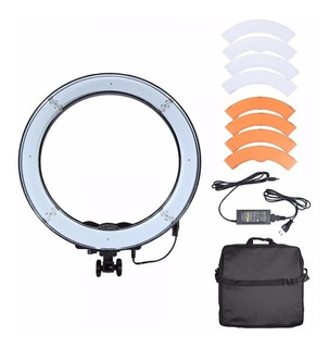 Lampara Led Para Maquillaje Y Rostro Ring Light Rl18