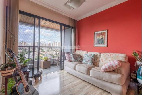Excelente Apartamento Na Vila Clementino!!! Varanda!!! Ensolarado!!! Lazer Completo, 3 Vagas!!!!! - Pj47300
