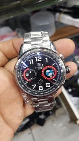 Relógio Masculino Tag Bmw 100 % Funcional Frete Grátis