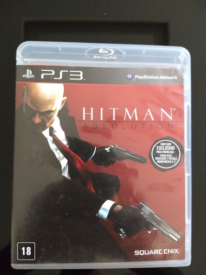 Hitman Absolution - Ps3 - Mídia Física