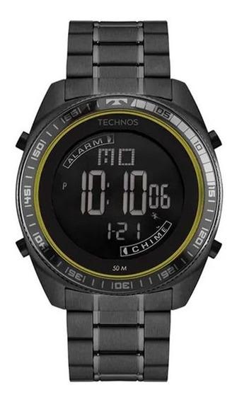 Relógio Masculino Technos Digital Bj3373aa/4p